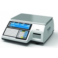 Cas Cl-5200b 15Kg hitelesített címkenyomtatós rendszermérleg