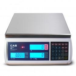Cas Er-Plus 15/30Kg hitelesített mérleg