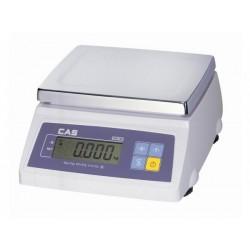 Cas Sw-1s 2/5/10/20Kg hitelesített asztali mérleg