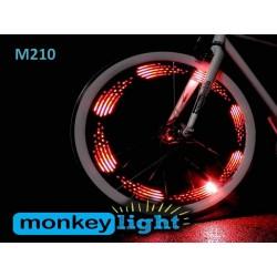 Monkey Light M10 egyedi kerékpár világítás