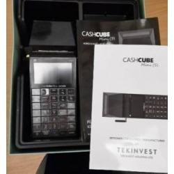 HASZNÁLT CashCube Mini hordozható online pénztárgép (GPS)