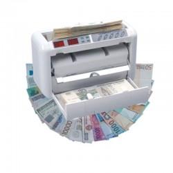 EC-2700 hordozható akkumulátoros bankjegyszámláló és bankjegyvizsgáló gép (UV+MG)