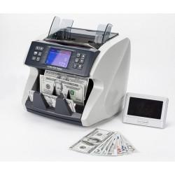 EC-5200 FORINT pénzszámoló gép, értékszámláló és pénzszortírozó funkcióval (UV+MG+DD+IR+MT+CIS)