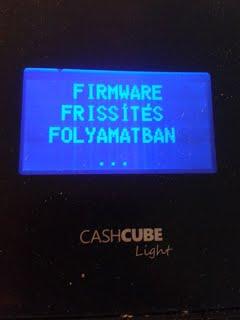 CashCube frissítés 1