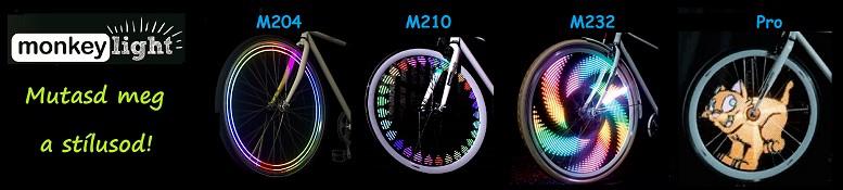 Merd megmutatni egyedi stílusod ezzel a különleges kerékpár világítással. Monkey Light M204 ; Monke